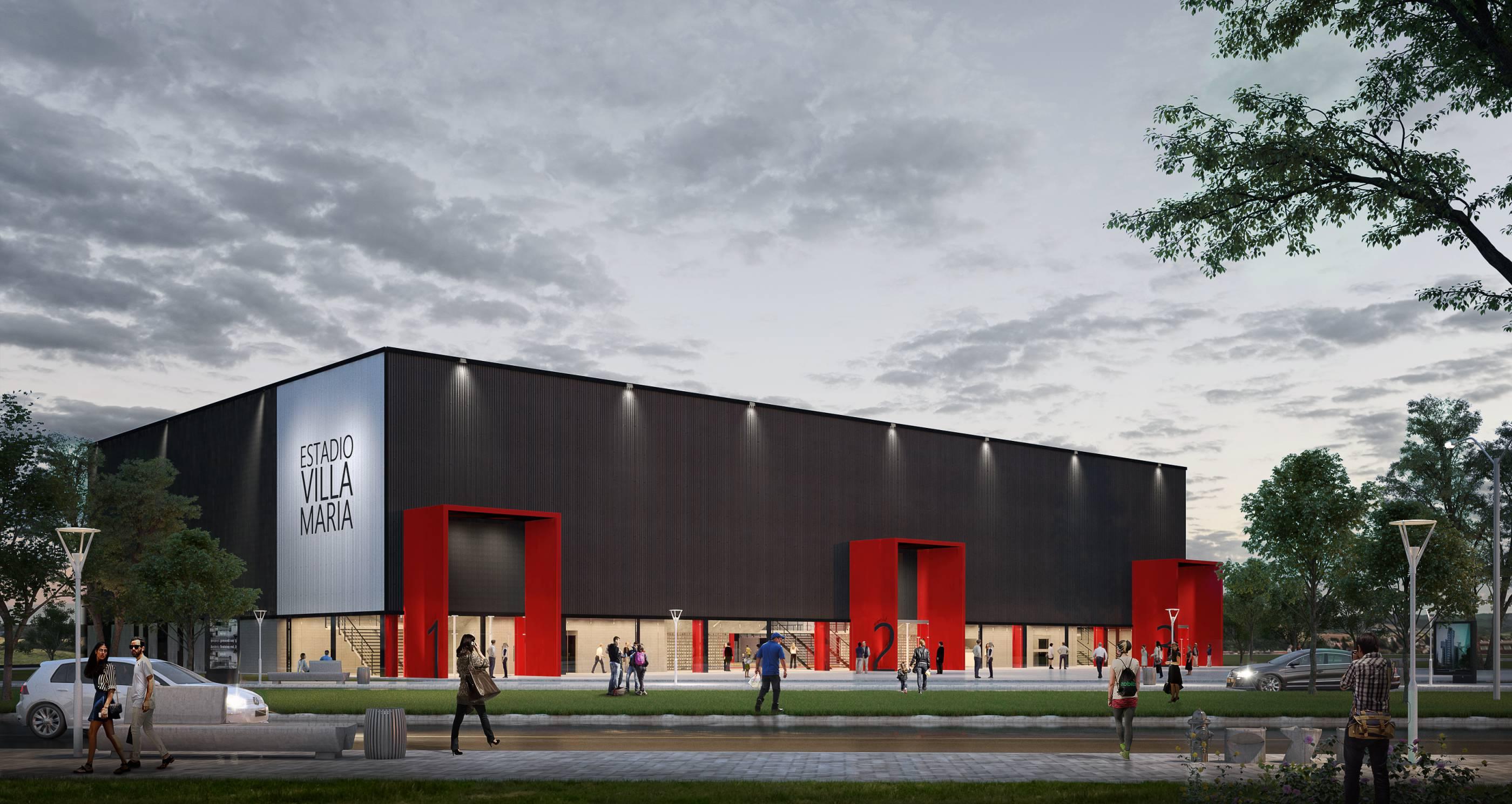 Proyecto del Nuevo Salón de Los Deportes