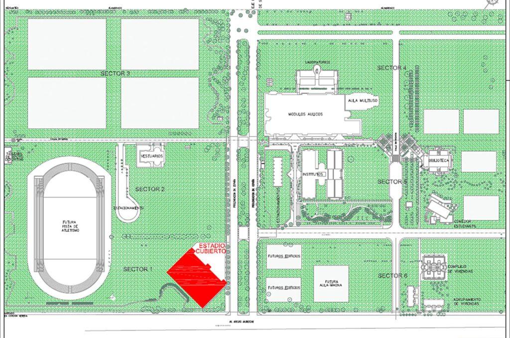 Ubicación - Nuevo Salón Deportivo